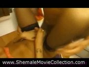 Shemales love cumshots!