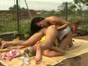 Lesbian Picnic Sex