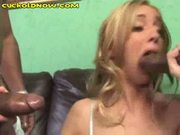 Taking black in front of hubby