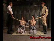 Japanese war girls punished