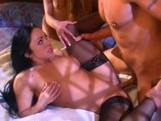 Cherokee and Felecia threesome