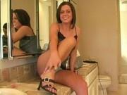 Shirley, from ftv girls, amazing blonde girl lingerie play
