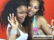 Ebony Lesbian Kianna Jade Pleasures Bunny Real