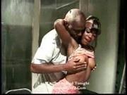 Jazmine - Damn hot ebony action -1