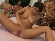 Ariana Jollee - The 65 Man Gang Bang Pt8