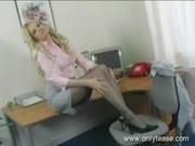 Rima Teasing in Pantyhose