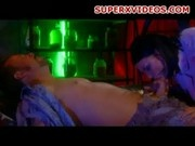 Nasty brunette Eva Angelina sucks huge cock