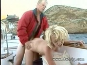 Baywatch Blondie Anastasia Blue Takes Her Partner On A Sailboat And Fuck Their B