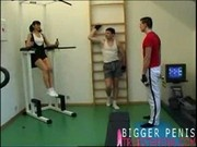 two gym guys for one hot gym girl 1