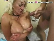 Older Stacked and Squirting