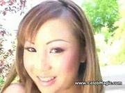 Sweet japanese babe tight holes