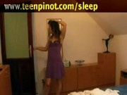 Impassioned babe screwing hard by her sweetheart in flop whi