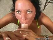 Dakota Reed - Mature Babe Strokes Cock