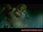 Stormy Daniels Dee and Trina horny lesbias play