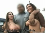 Pornstars public nudity