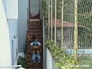 Hidden Camera Sex, Caught doing the nasty by neighbor