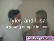 Teen amateur party