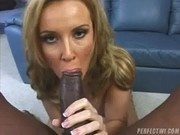 A hot interracial fuck with a Hungarian slut - Her First Black Cock