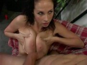 Natural Knockers threesome with Gianna Michaels