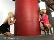 Threesome gloryhole group BJ