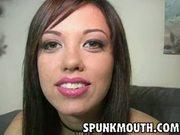 Jenny hendrix blowjob & facial