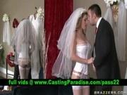Kayla Paige, stunning busty bride