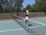 Kagney Linn Karter fucks her tennis coach