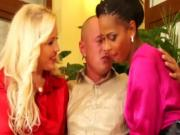 Classy eurobabes threesome mff action