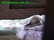 Spycam - spying press sleeping in panties