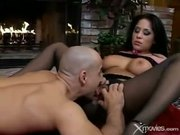 Jenaveve sucks and fucks a big cock