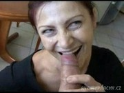 Mature mom picked up on the street