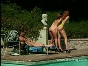 Pussyman Tests Out Bikini Girls Laura And Susanne Storm Blowjob Skills