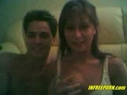Husband and Wife fucking on the webcam