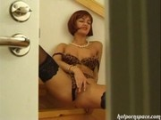 Cute Redhead Gets Fucked Hard After Party