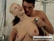 Busty Young Girl Masturbates And Gets Fucked
