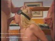 Andrea - Sexy blonde exploited by two dicks