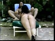 Latin Girl Fucks Outdoor