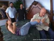 Latina MILF Tries Anal Threesome