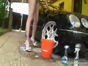 Adrianne black washes mercedes