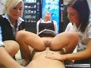 Schoolgirls Orgy with the Teacher