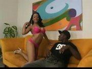 Horny Black Teen Enjoys A Black Dick