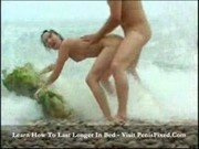 Lorna - Beach girl feels cock slide