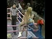 Glow Wrestling Lift and Carry Cheyenne Cher vs Lady Godiva vs Beast