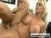 Bra Busting Milf Holly Halston Pussy Fucked Hard On Office Desk
