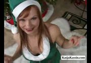Katja kassin - female elf gives head