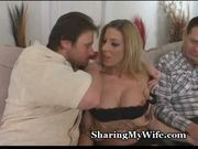 Hot wife banged by buddy