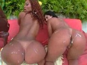 Luana's Big Brazilian Ass In The Orgy