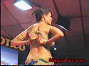 Busty indian public strip