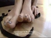 Shane - Flower stockings foot fetish - 14:49mins