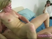 Hot wife banged infront of husband